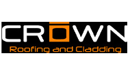 Crown roofing & Cladding Logo